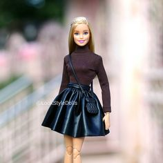 💖 #Barbie #BarbieStyle #GoodDay Barbie Style, Barbie Model, Diy Barbie Clothes, Doll Clothes, Accessoires Barbie, Barbie Fashionista Dolls, Barbie Sisters, Barbie Life, Beautiful Barbie Dolls