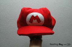 Mario Brother Hat Tutorial