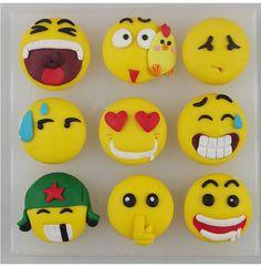 Emoji Faces Silicone Mold