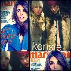 Kensie as seen in Marie Claire, November 2012