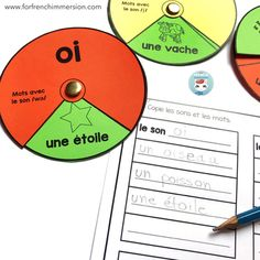 French Phonics Wheels: they come with answer recording sheets for accountability if you set it up as literacy centers. Pour la conscience phonologique. Pour apprendre les sons français #forfrenchimmersion #frenchphonics #laconsciencephonologique Read In French, Phonics Sounds, French Classroom, French Immersion, Recording Sheets, Conscience, Teaching Writing, Literacy Centers, Guided Reading