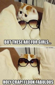 I look fabulous!!