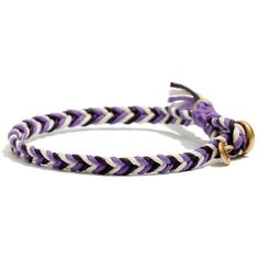 MADEWELL Braided Friendship Bracelet ($8) ❤ liked on Polyvore