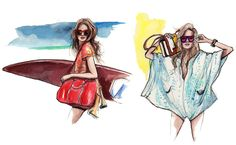 <p>I just discovered the charming fashion illustrations of New York based artist Inslee Haynes. Always drawing very stylish ladies in her very own style, all of her watercolor illustrations remind me a lot of street style photography. Haynes' works as a freelancer and is excited to work on any your fashion projects. More information at…</p>