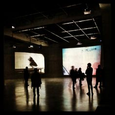 William Kentridge installation,  The Tanks at Tate Modern, Southwark, London