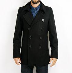 Old Jam Lance svart skepparkavaj Dr Denim, 1 799 kr Denim, Coat, Jackets, Fashion, Down Jackets, Moda, Fashion Styles, Jacket, Fashion Illustrations