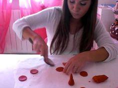 tutorial rose in pasta di zucchero