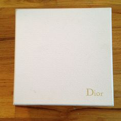 Free with any Purchase!!Dior Hard cover box. Dior Accessories