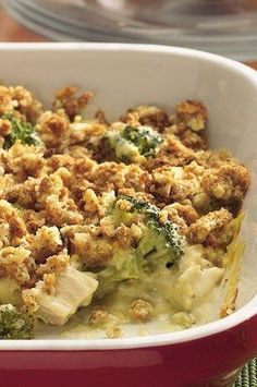 Turkey and Stuffing Bake. This would be a great freezer meal to make with Thanksgiving leftovers!