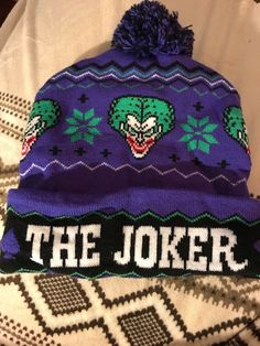 Joker Hat  fashion  clothing  shoes  accessories  unisexclothingshoesaccs   unisexaccessories (ebay b778ec411153