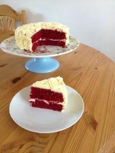 noegg.co.uk recipe red velvet cake - delicious!