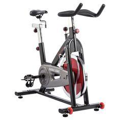 Sunny Health and Fitness (SF-B1002C) Chain Drive Indoor Cycling Bike - Dark Gray
