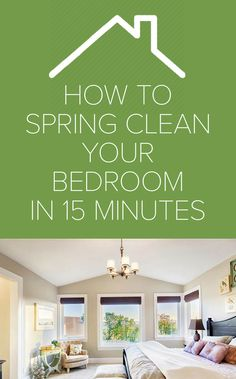 Spring cleaning guide: How to clean your bedroom in 15 minutes