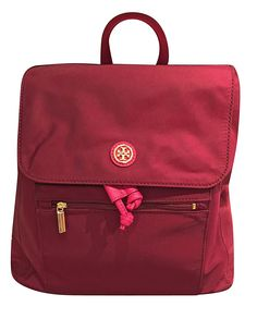 Brand: Tory BurchColor: CabernetFeatures: Nylon Magnetic front flap Front slip pocket and zipper pocket Interior zipper and slide pockets x x Deta Travel Backpack, Fashion Backpack, Best Travel Accessories, Backpack Reviews, Amazon Associates, Tory Burch, Backpacks, Purses, Camping Products