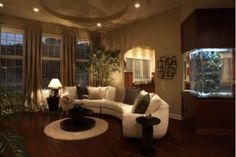 Unusual Aquarium Design to your Living Room