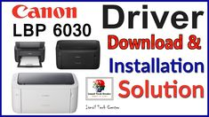 How to download & install new Canon LBP 6030 Laser Printer || Driver Ins... Printer Driver, Laser Printer, Canon, Cannon