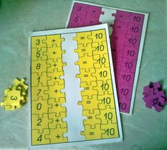 Τα ζευγαράκια των αριθμών - Προσθετική ανάλυση των αριθμών 6-10