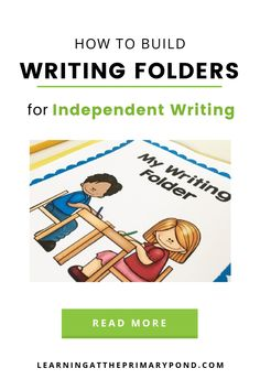 If you want your students to work more independently during writing time, using writing folders is a great step in that direction! In this post, I'll describe (in detail) what I put in my students' writing folders and how I teach them to use those tools. Student Writing Folders, Writing Workshop, Second Grade, Read More, Students, Classroom, Teaching, Tools, Detail