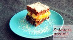 Pani Domowa: Ciasto snickers - przepis