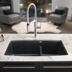 Blanco Precis 27 Granite Composite Undermount Kitchen Sink In Captivating Undermount Kitchen Sink Design Inspiration