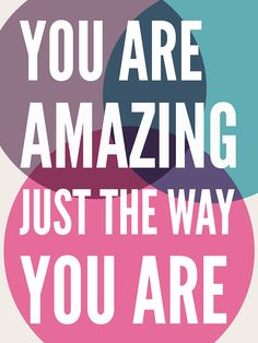 'You Are Amazing' Print