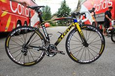 TOP 5 - BICICLETAS DE CARRETERA: El Cofidis y su Look 695 bici en este Tour de Fran...