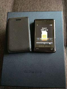 Samsung Giorgo Armani - P520 - Unlocked Cell Phone *SUPER RARE* *LUXURY* #Samsung #Bar
