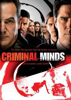 Criminal Minds (German) 27x40 Movie Poster (2005)