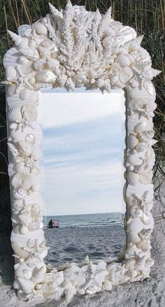 beautiful - have done something similar with an old mirror