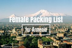 My packing list for Armenia was flawed, and I arrived woefully unprepared. Yerevan was sweltering; the mountains were cold. Here is my ultimate recommendation.