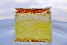 Bielkové krémeše Hungarian Recipes, Russian Recipes, Hungarian Food, Polish Recipes, Vanilla Cake, Baking Recipes, Catering, Almond, Cheesecake