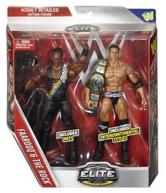 "WWE Collection Flashback Faarooq The Rock ""The Nation"" Wrestling Action Figures  #WWE"