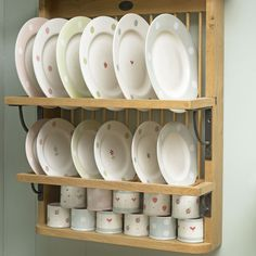Plate rack and Susie Watson designs. One of my ideas of heaven