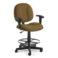 """OFM Comfort Series """"Superchair"""" with Arms and Drafting Kit"""