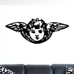 nice Angel Cherub Design Wall Sticker