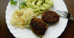 Kuchnia bez glutenu : Kotlety z groszku