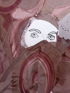 textile Kunst, oya-Kunst Collage, Mixed Media, Textiles, Art, Pictures, Collages, Mixed Media Art, Collage Art, Cloths