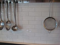 """2x6 subway from Tileshop.com The edges are fairly straight but the surface has that """"wavy"""" finish that gives it a hand made look. I LOVE it!!! Price was about $8.00 SF with free shipping."""