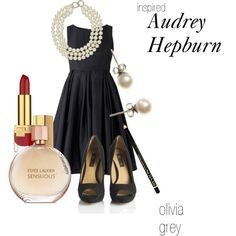 "Audrey Hepburn Inspired Outfit- So elegant and timelessly chic!                                                                                                                    <button class=""Button Module borderless hasText vaseButton"" type=""button"">        <span class=""buttonText"">                          More         </span>          </button>"
