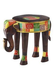 Die bastel elfe alles rund ums basteln elefant aus for Beistelltisch elefant