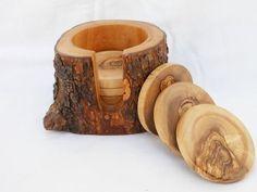 Handmade Wooden Rustic Coasters