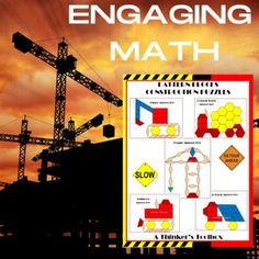 Kindergarten Math Construction Puzzles by A Thinkers Toolbox Hard Puzzles, Challenging Puzzles, First Year Teachers, New Teachers, Hands On Learning, Math Concepts, Teacher Blogs, Blog Love, Kindergarten Math