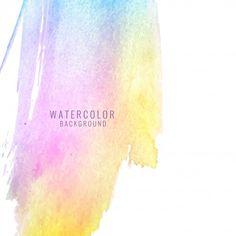 カラフルな抽象的な水彩汚れの背景 無料ベクター Watercolor Background, Abstract Watercolor, Sea Art, Wedding Reception Decorations, Abstract Backgrounds, Vector Free, Editorial, Patterns, Logo