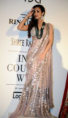 Sabhyasachi at Delhi Couture week 2014.