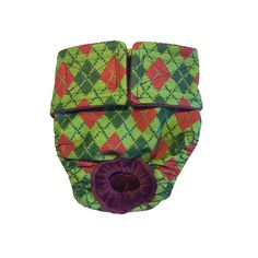 Dog Diapers - Made in USA - Green Argyle Washable Dog Diaper for Incontinence, Housetraining and Dogs in Heat ** Check this awesome product by going to the link at the image. (This is an affiliate link) #LitterandHousebreaking