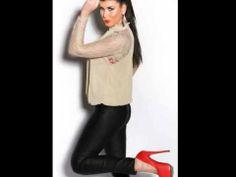 Bluse Shirt Abend Mode TrendJunge Mode Damenmode Bluse114beige