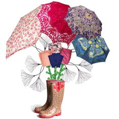 Designer Clothes, Shoes & Bags for Women May Flowers, April Showers, Bring It On, Artwork, Polyvore, Stuff To Buy, Design, Women, Work Of Art