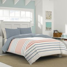 Nautica Staysail Comforter And Duvet Sets - Duvet Covers - Bed & Bath - Macy's