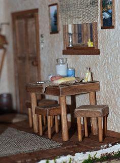 Дом у маяка.. – 35 фотографий Lighthouse, Miniature, Table, Furniture, Home Decor, Bell Rock Lighthouse, Light House, Miniatures, Interior Design