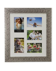 melannco 4 x 6 five opening picture frame